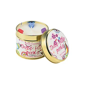 Bomb Cosmetics Tinned Candle - Three Little Birds