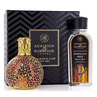 Ashleigh & Burwood Fragrance Oil Lamp Home Gift Set Diffuser Tahitian Sunset