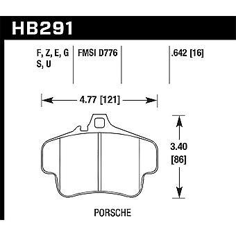 Hawk prestanda HB291G. 642 DTC-60