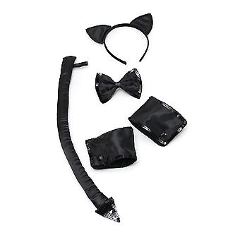 Bristol Novelty Adults Unisex Formal Cat Set