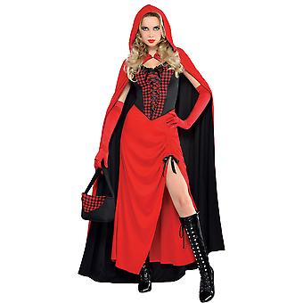 Womens Riding Hood Enchantress Fancy Kleid Kostüm