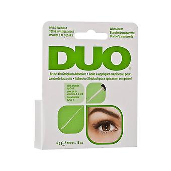 Duo Brush On Strip & Individual False Eyelash Long Lasting Clear Adhesive Glue