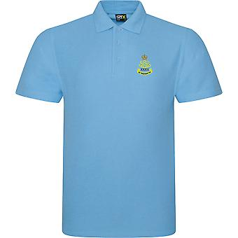 32nd regiment Royal Artillery (Wessex Gunners)-licenseret British Army broderet RTX Polo