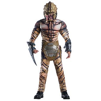 Predator Deluxe Space Alien Horror Movie Licensed Halloween Adult Mens Costume