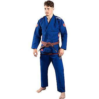 Scramble Athlete 4 Luxury 550gsm+ Brazilian Jiu-Jitsu Gi - Blue