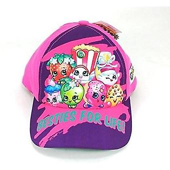 Baseball Cap - Shopkins - Group Pink Adjustable Kids/Youth 246263