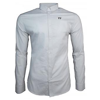 11 Degrees Shirts LS Contrast Logo Shirt