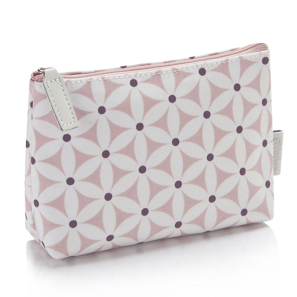 'starflower' makeup bag - blush