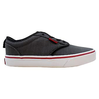 Vans Atwood Slip-On Black/Hawaiian Ocean Textile VN0004LMFN8 Pre-School