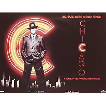 Chicagon alkuperäinen elokuva juliste