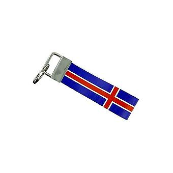 Door Cles Keys Car Moto Band Fabric Flag House Tuning Iceland
