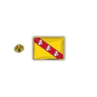 Pine PineS Pin Badge Pin-apos;s Metal Broche Pince Papillon Flag Lorraine France