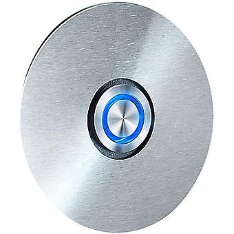 RADIUS ring switch - rustfri - blå led ring - 8,5 cm LED Bell - 580 D