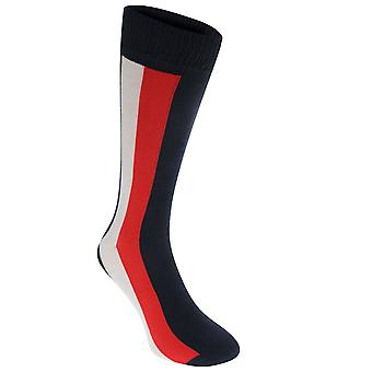 Tommy Bodywear Mens Icon Global Knee High Knitted Striped Soft Casual Socks