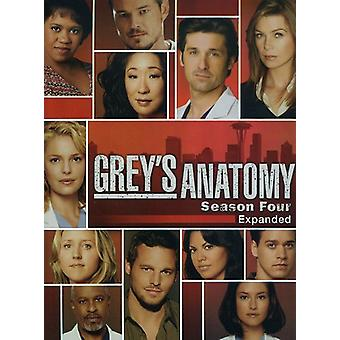 Greys Anatomy - Greys Anatomy: Staffel 4 [DVD] USA Import