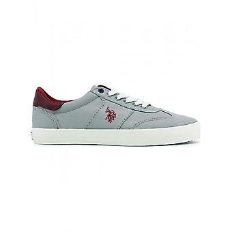 U.S. Polo-schoenen-sneakers-MARCS4146S8_C1_GREY-heren-grijs, donkerrood-44