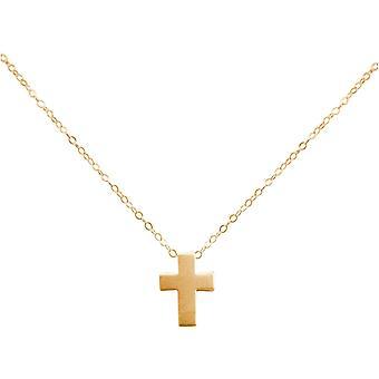 GEMSHINE halsband med hänge 925 silver, guldpläterad eller ros