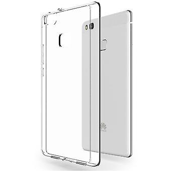 Casco para Huawei P9 Lite Transparente Flexible