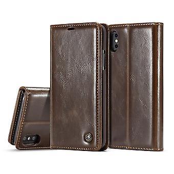 Estojo para porta-cartões iPhone X Maroon