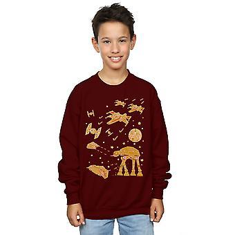 Star Wars Boys Gingerbread Battle Sweatshirt