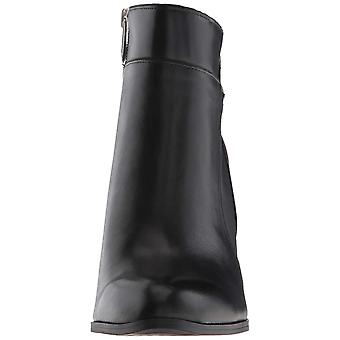 Adrienne Vittadini Womens Tammy Leather Closed Toe Ankle Cold Weather Boots