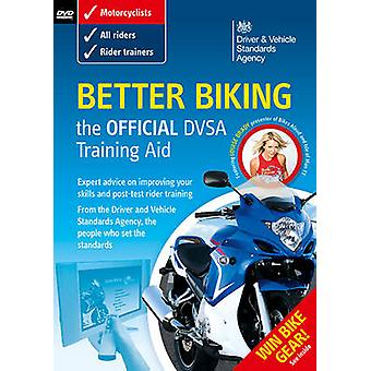 Better biking  the official DSA training aid DVD by Driving Standards Agency