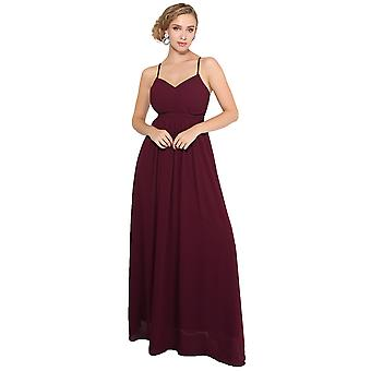KRISP Women Ladies Strappy Maxi Dress Formal Wedding Evening Party Ball Gown Cocktail