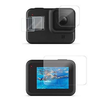 Set with screen protection/lens protection to GoPro Hero 8 Black