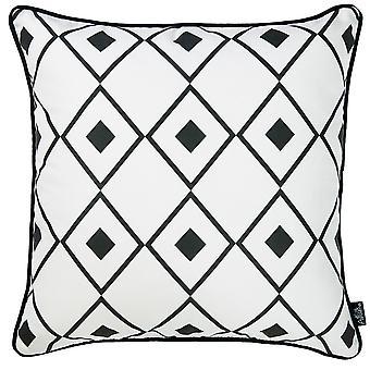 "18""x 18"" Cactus Lotus Decorative Throw Pillow Cover Printed"