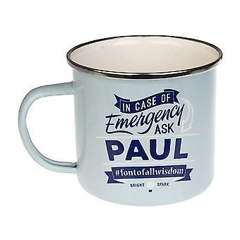 History & Heraldry Paul Tin Mug 71