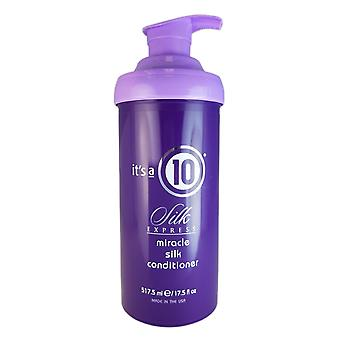 It's a 10 silk express miracle silk hair conditioner 17.5 oz