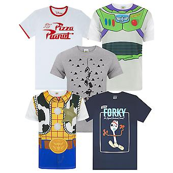 Disney Pixar Toy Story Woody Buzz Pizza Planet Claw Men-apos;s T-Shirt Various Styles