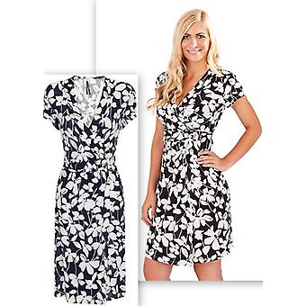 Pistachio Women's Floral Wrap Dress
