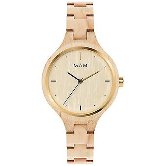 Mam Original Japanese Quartz Analog Woman Watch with Bracelet from Other SILT 606