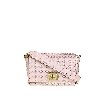 Red Valentino Tq2b0b66xiqn17 Women's Nude Leather Shoulder Bag