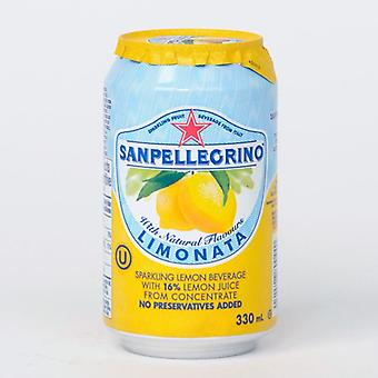 Lattine San Pellegrino Lemonata -( 330 Ml X 24 Lattine )