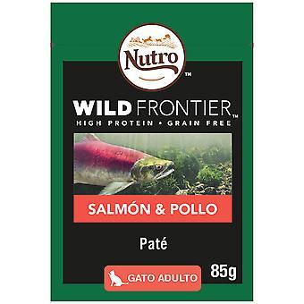 Nutro Wild Frontier Húmedo Salmón y Pollo Gatos Adultos (Cats , Cat Food , Wet Food)