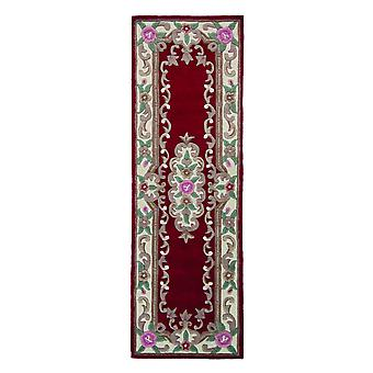 Chinese Aubusson Hallway Runners In Red