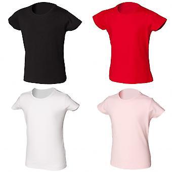 Skinni Minni Girls Stretch T-Shirt