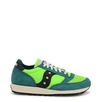 Saucony الأصلي الرجال على مدار السنة أحذية رياضية - اللون الأخضر 35495