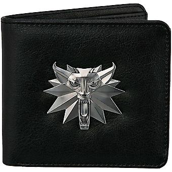 The Witcher 3: Bi-Fold Wallet: White Wolf Wallet 9x11cm