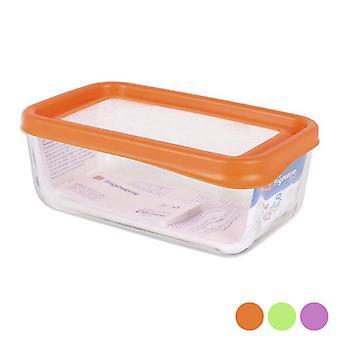 Bormioli-kokoinen joustinläjä (20,3 x 12,3 x 8 cm)/Oranssi