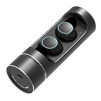 E8 echte draadloze bluetooth headset tws touch hifi ruisonderdrukking waterdichte oortelefoon met rotatie oplaaddoos voor iPhone x xr huawei