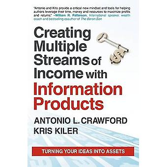 Creating Multiple Streams of Income with Information Products Turning Your Ideas Into Assets by Crawford & Antonio L.