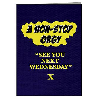 American Werewolf In London See You Next Wednesday Greeting Card