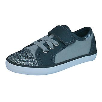 Keds Rally K AC Girls Trainers / Shoes - Grey