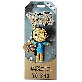 Watchover Voodoo Dolls Yo Bro Voodoo Keyring