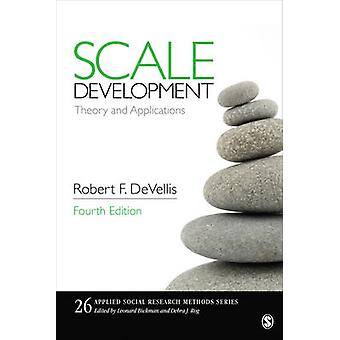 Scale Development - Theory and Applications (4th Revised edition) by R