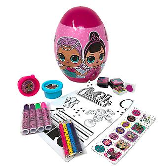 Lol Surprise! Childrens/Kids Egg Stationery Set