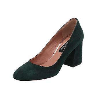 Oxitaly Gella 100 Women's Pumps Green High Heels Stilettos Heel Shoes